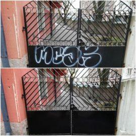 Graffitin poisto